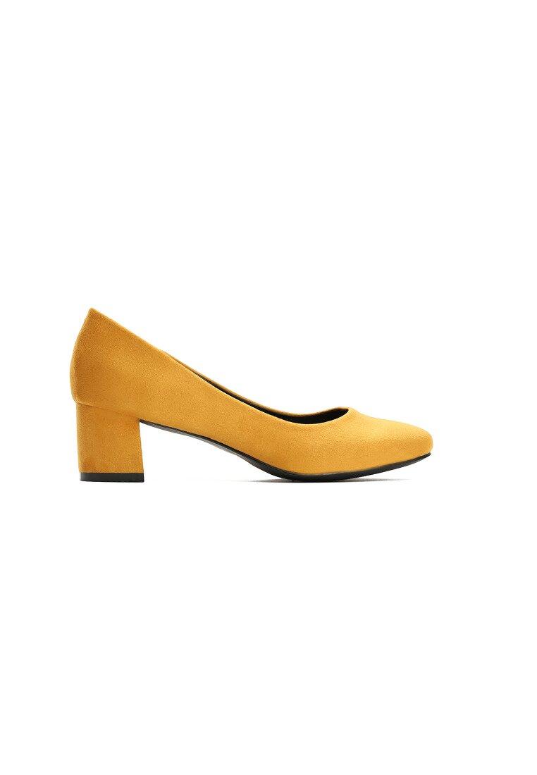 Żółte Czółenka Shade