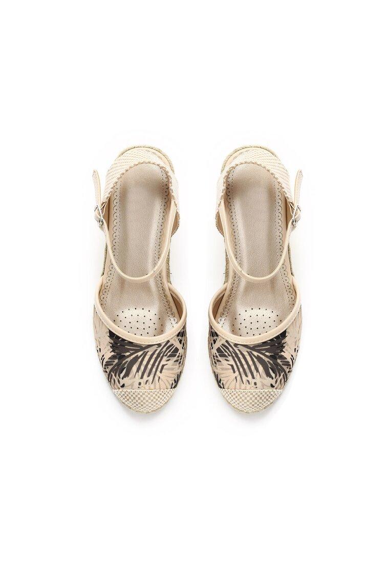 Beżowe Sandały World Of Art