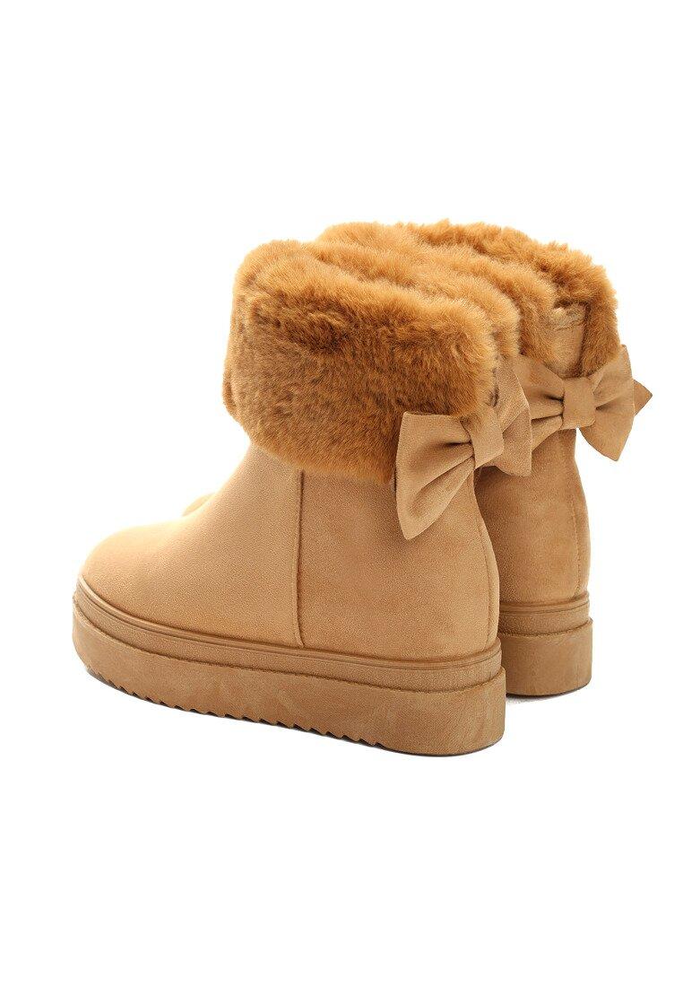 Camelowe Śniegowce Do Ya Think