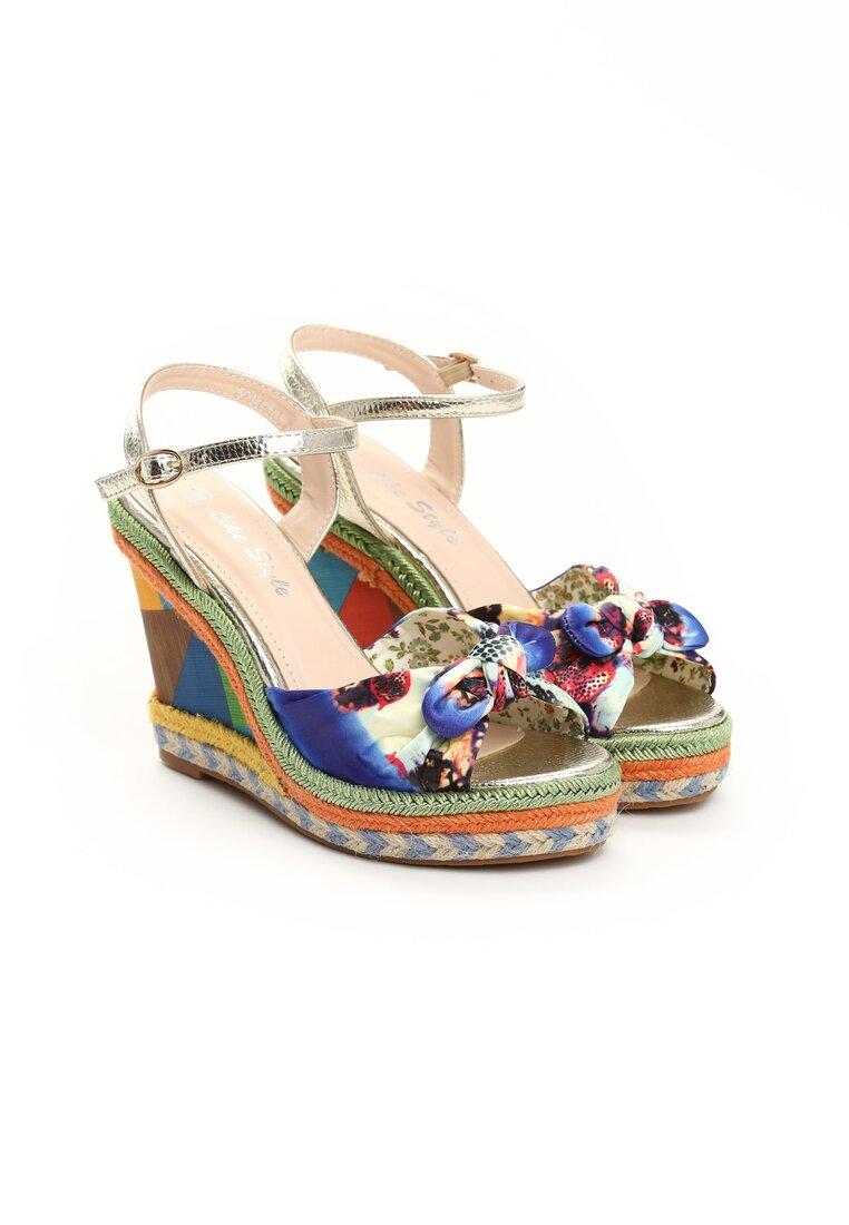 Niebieskie Sandały Stacks