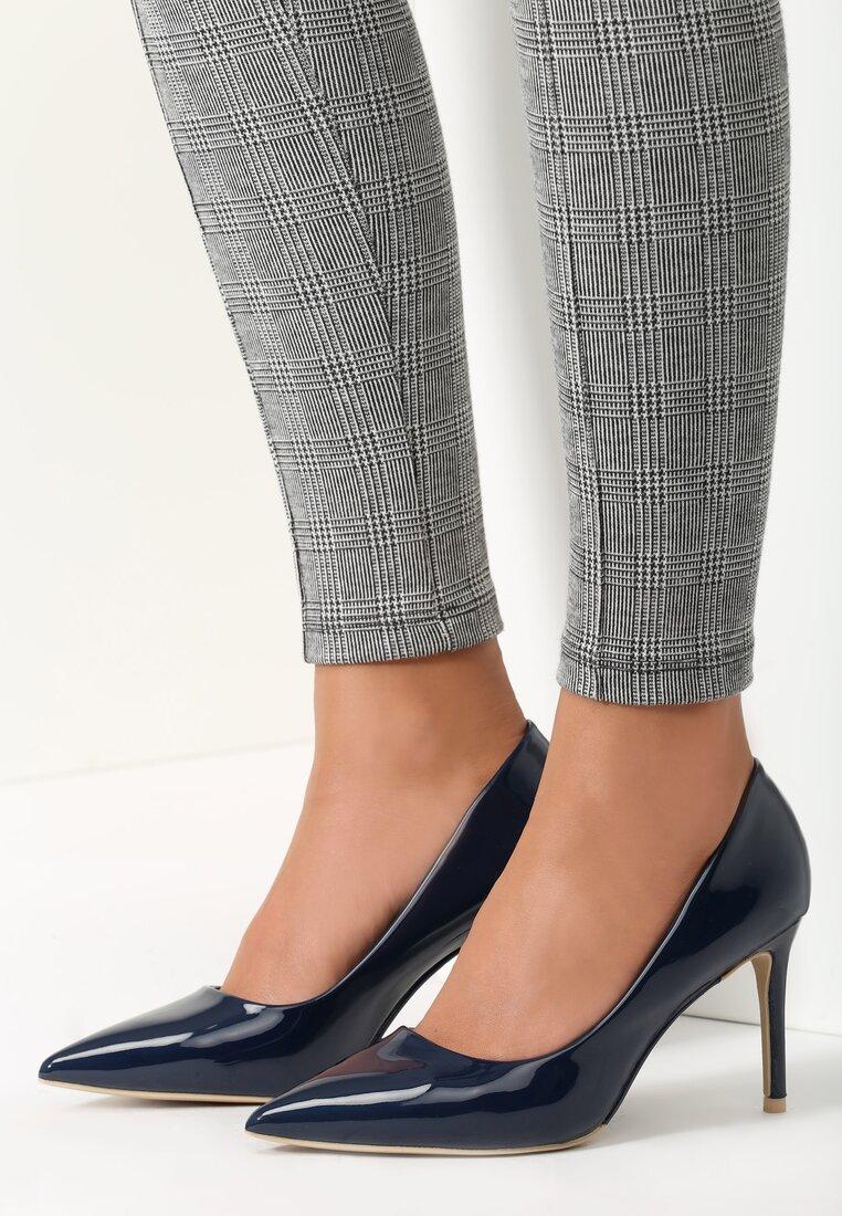 Granatowe Szpilki Killer Heels