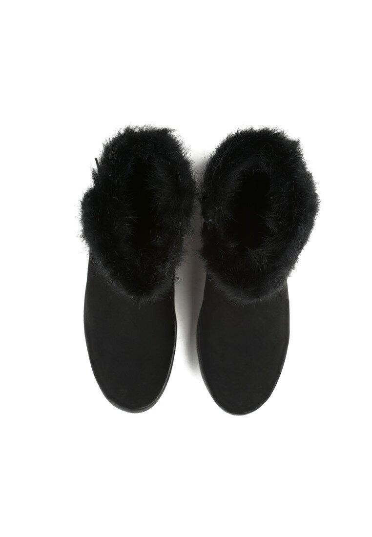 Czarne Śniegowce Icicle