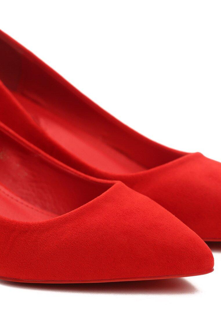 Czerwone Czółenka Ideal Cherry
