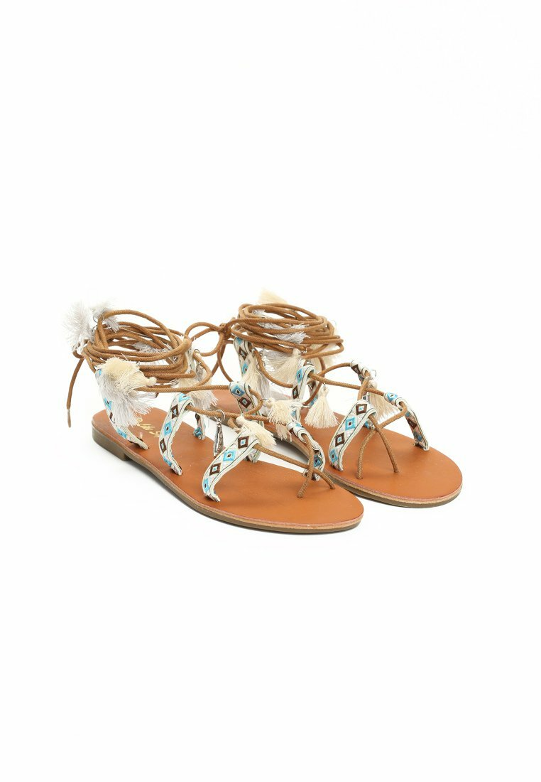 Beżowe Sandały Philander