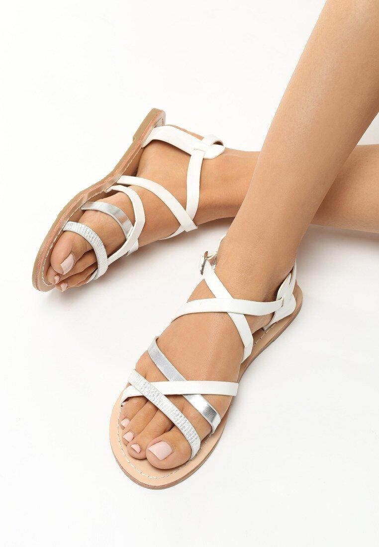Białe Sandały Measure