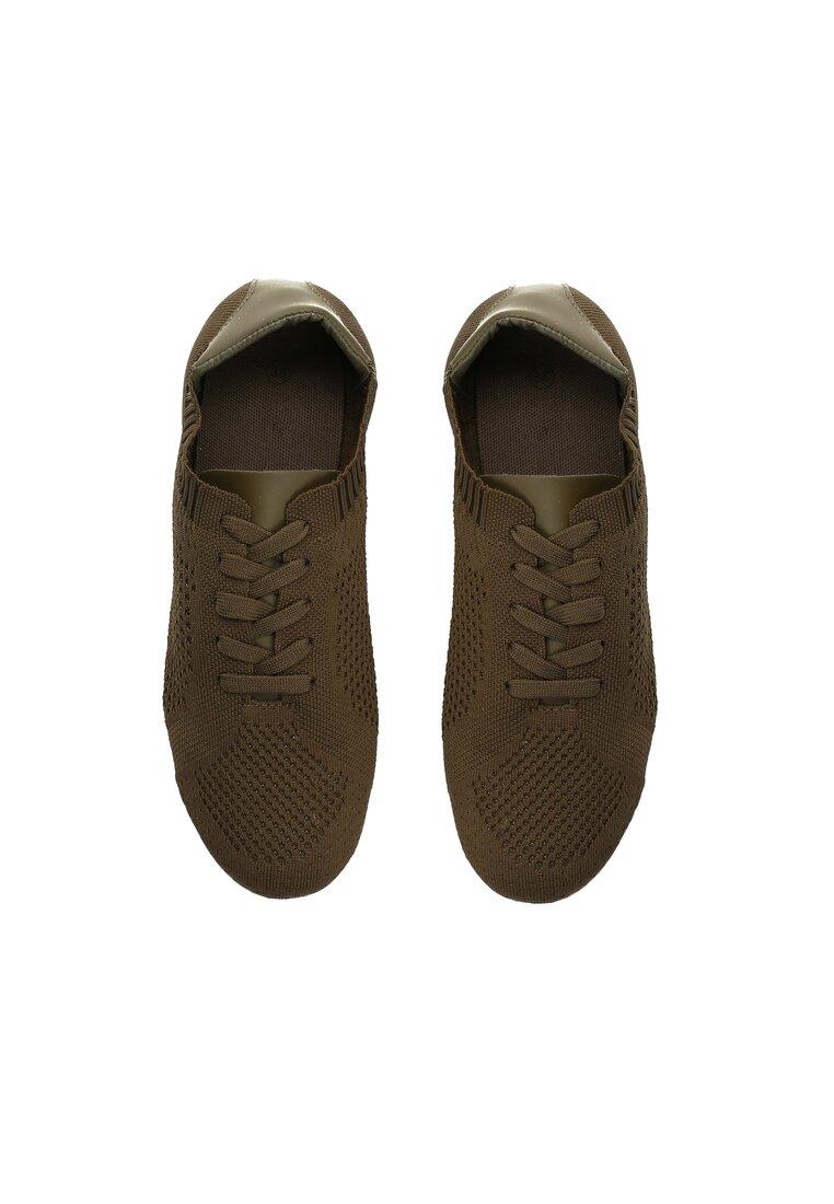 Brązowe Buty Sportowe Penumbra