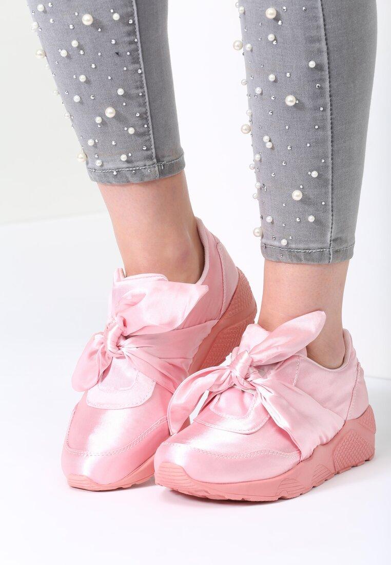 Różowe Buty Sportowe Comort Week