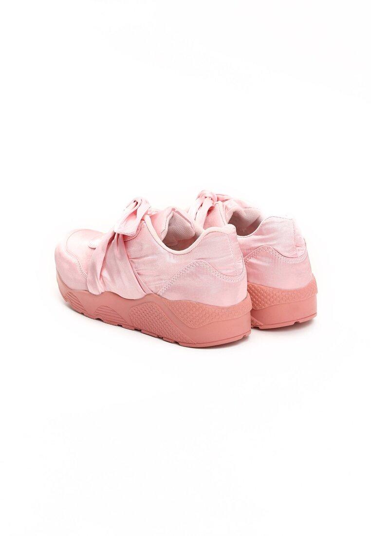 Różowe Buty Sportowe Tongue Twister
