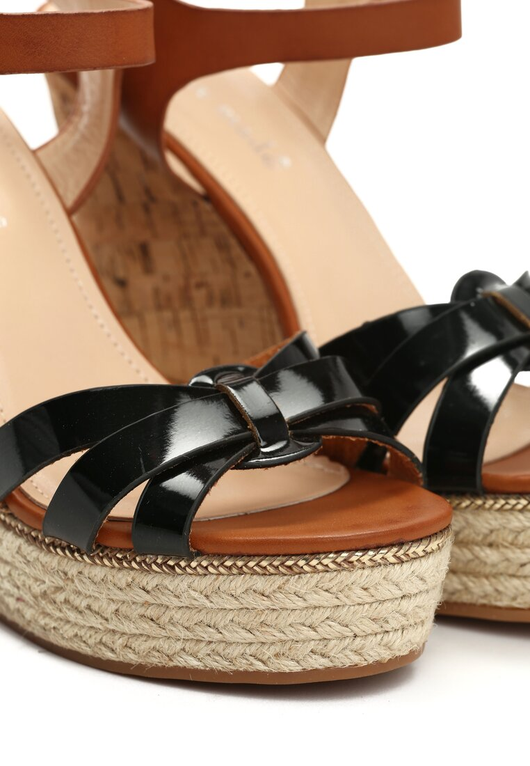 Czarne Sandały Maverick