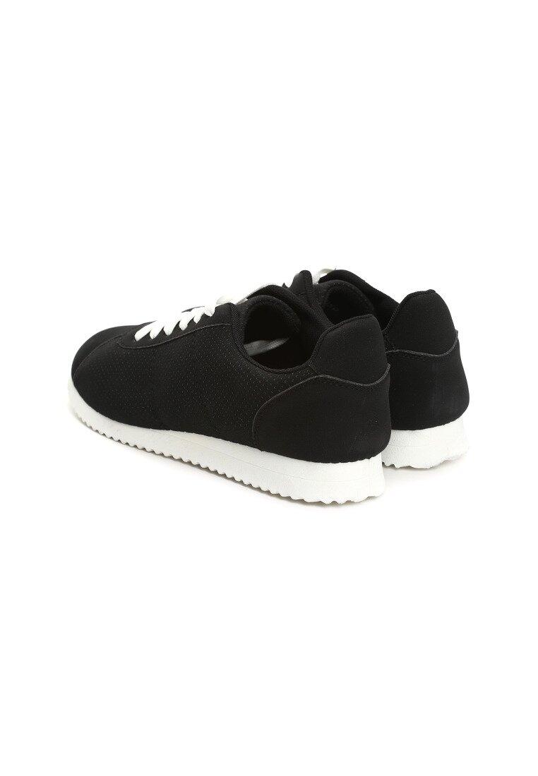 Czarne Buty Sportowe Rapid