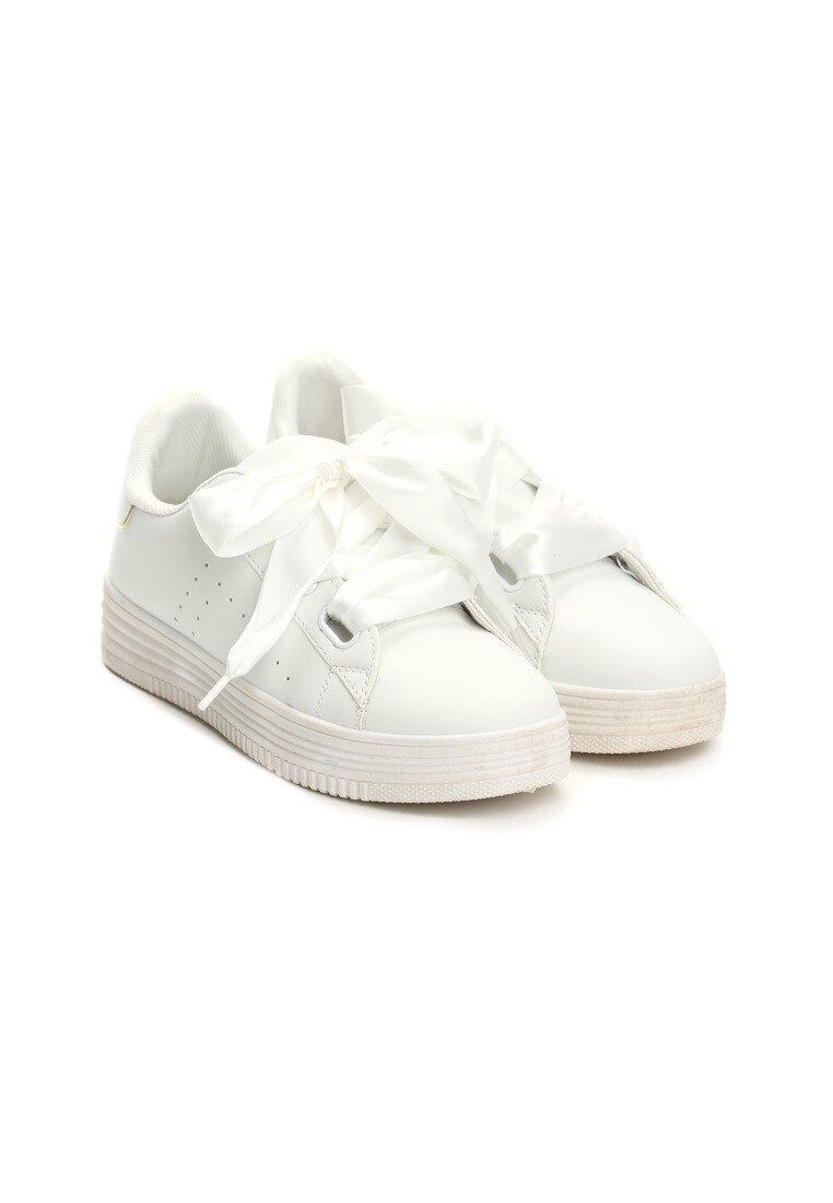 Białe Buty Sportowe Treasure