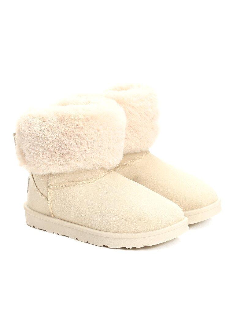 Beżowe Śniegowce Imagine