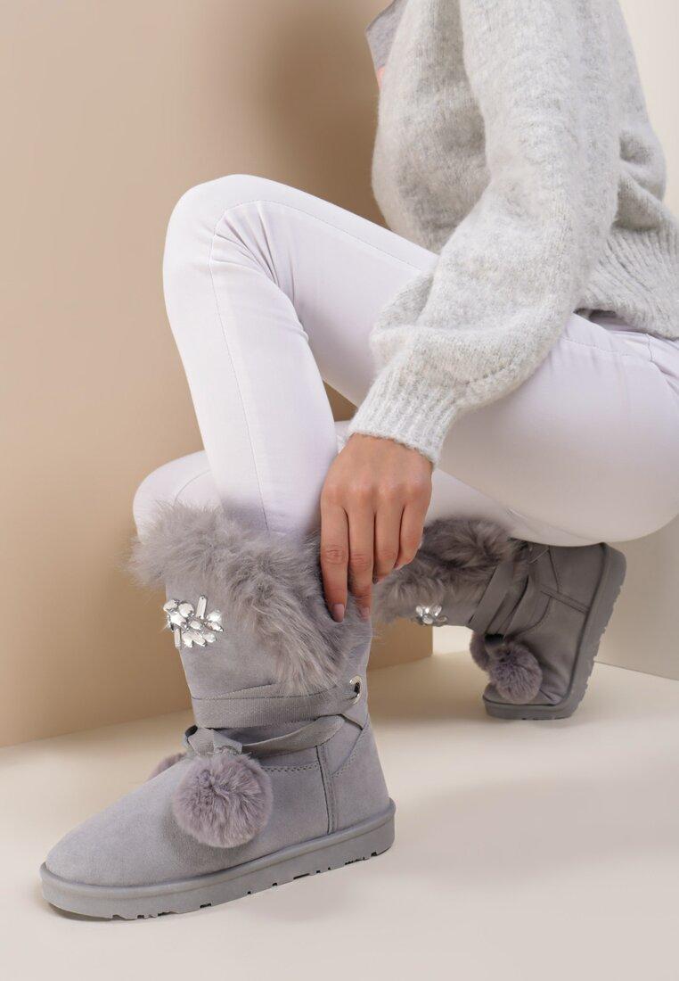 Szare Śniegowce Ice Lady