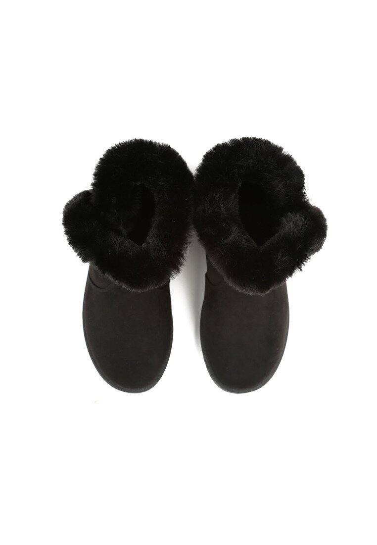 Czarne Śniegowce Nit-Pick