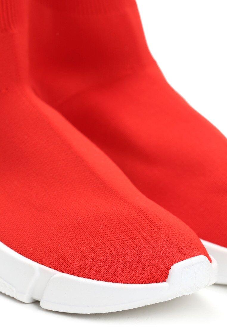 Czerwone Buty Sportowe Pleasurable Spot