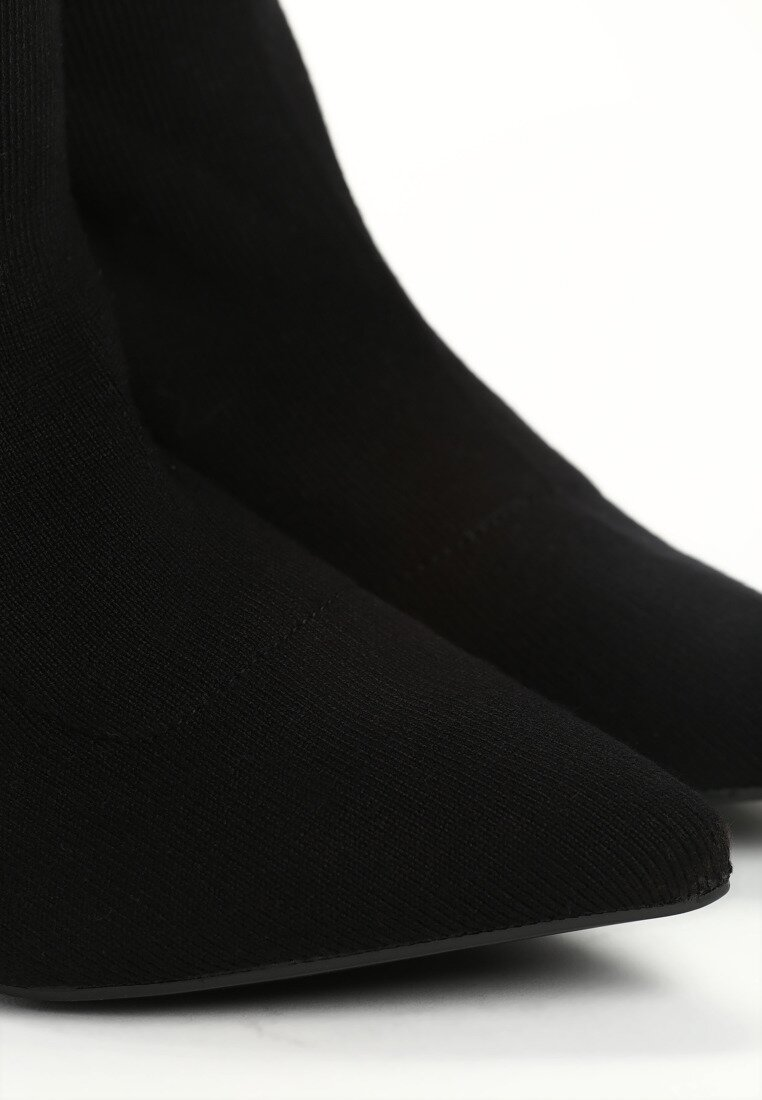 Czarne Botki Capricious
