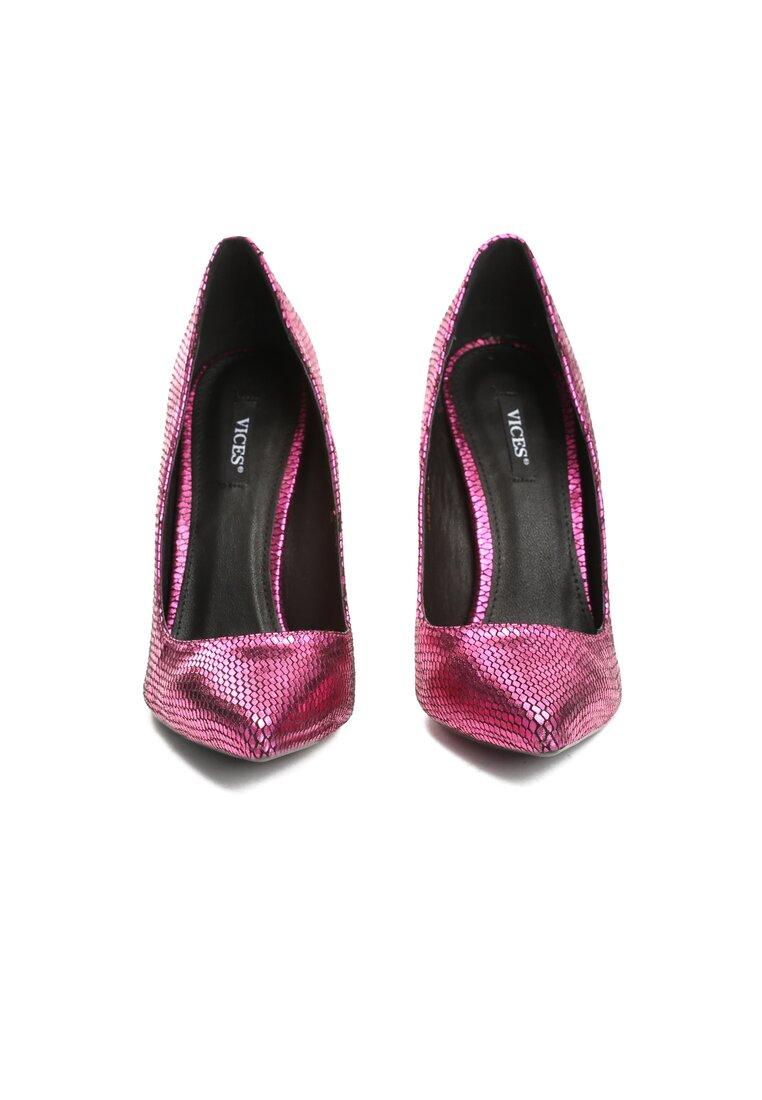 Różowe Szpilki Kick Up Heels