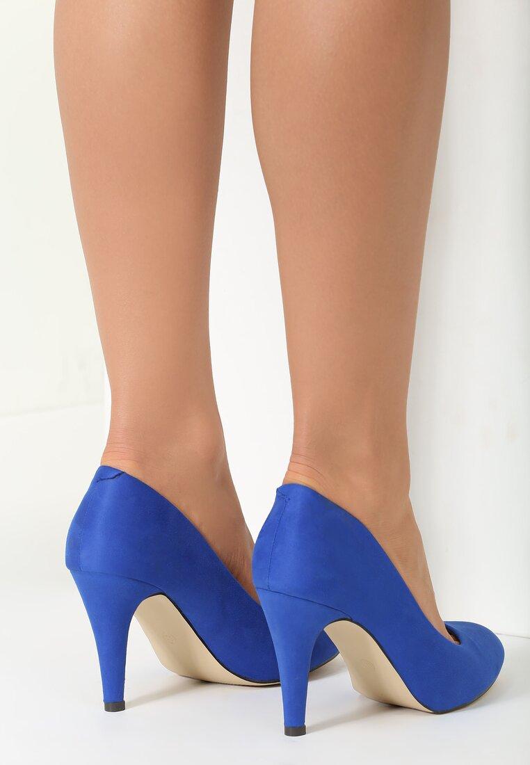 Niebieskie Czółenka Something Nice