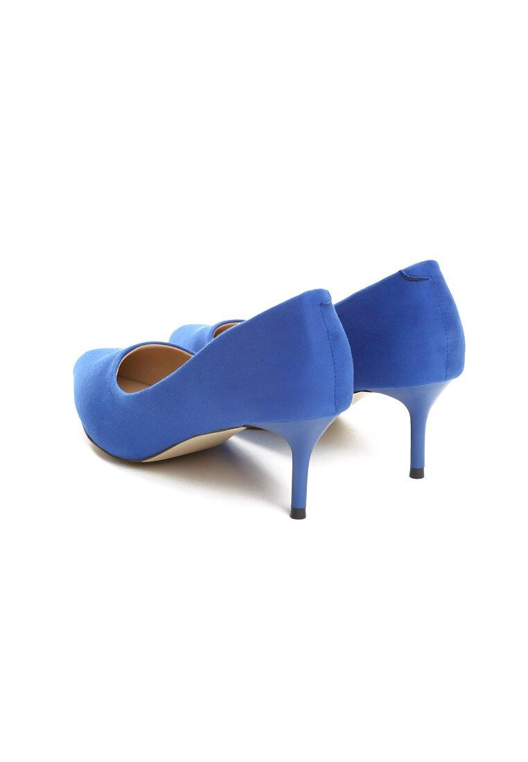 Niebieskie Czółenka Feel Style
