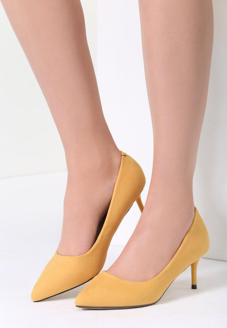 Żółte Czółenka Feel Style