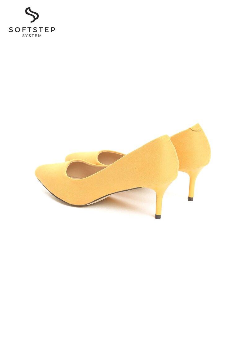 Żółte Czółenka Rockin' Babe