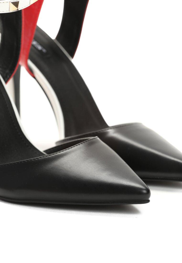 Czarne Sandały Sweet Georgia