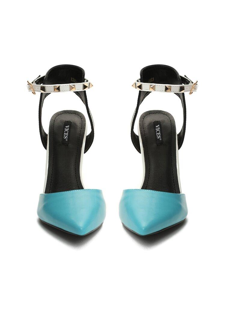 Niebieskie Sandały Sweet Georgia