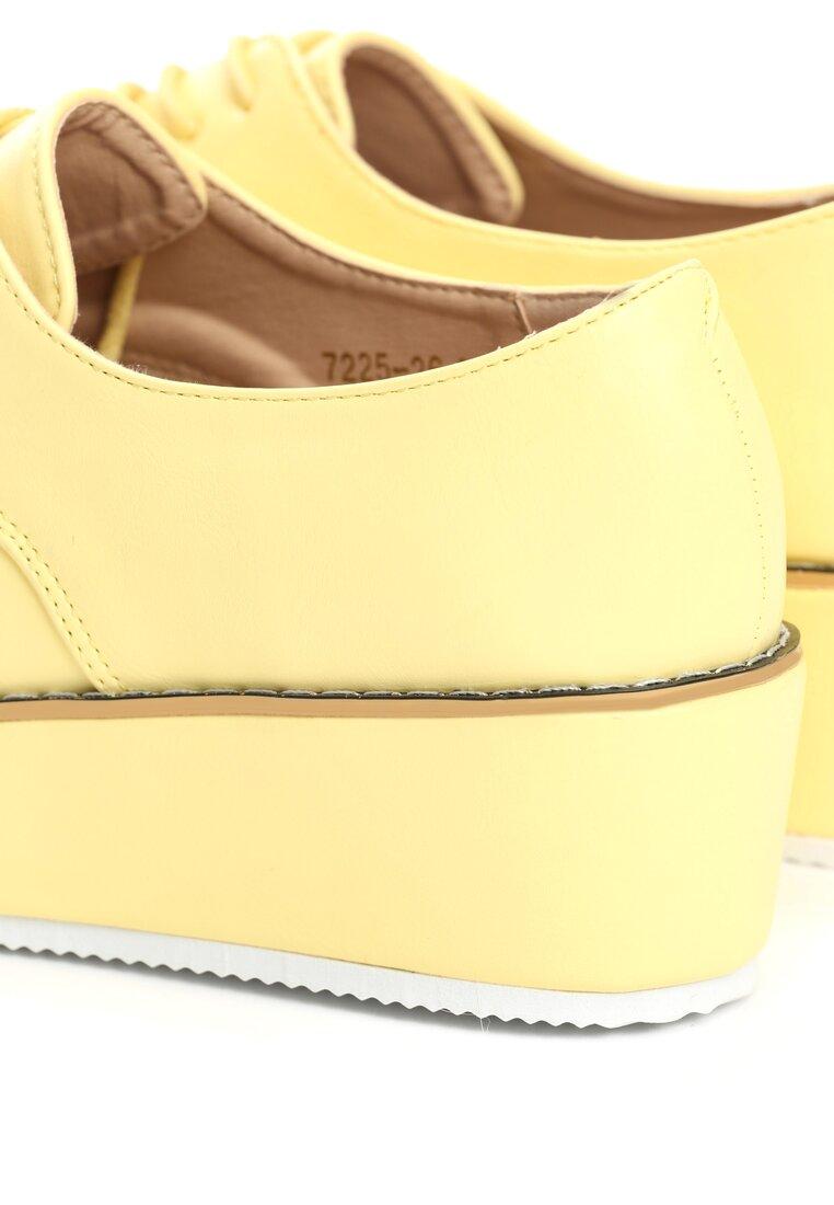 Żółte Półbuty Vernal