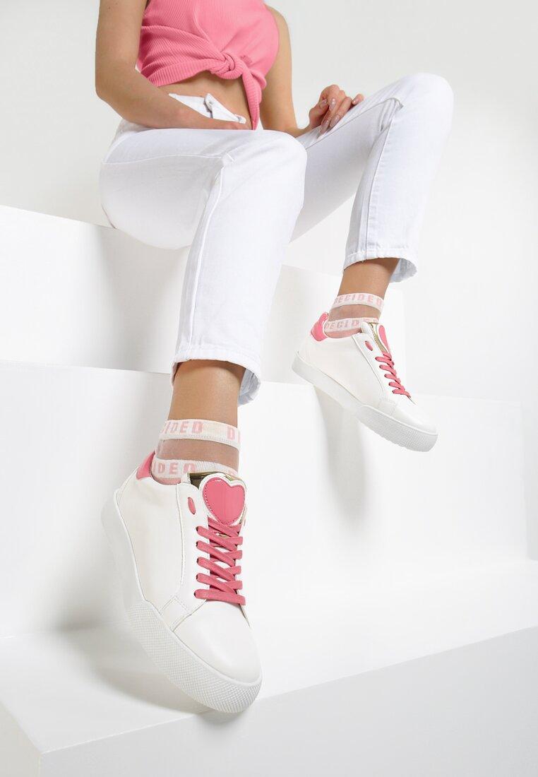 Biało-Fuksjowe Buty Sportowe You'll Love It