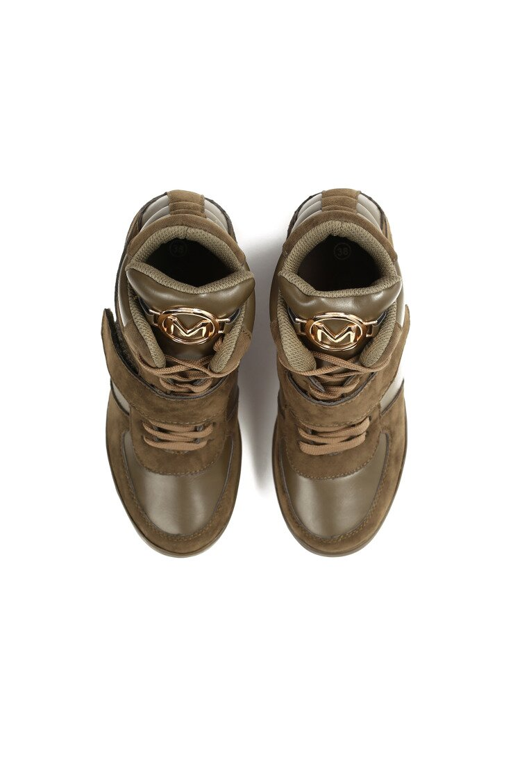 Khaki Sneakersy M Theory
