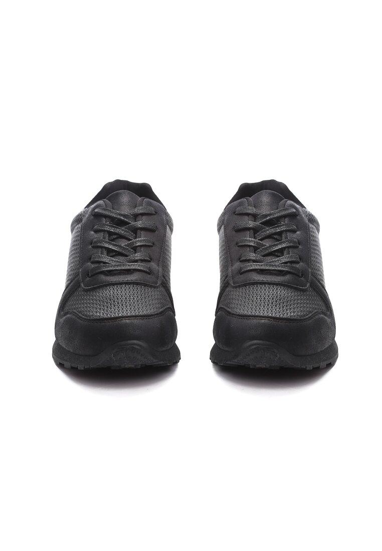 Czarne Buty Sportowe Sport Forever