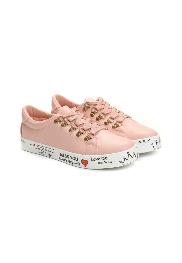 Różowe Buty Sportowe Surrender