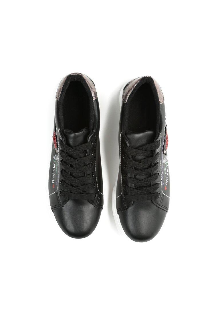 Czarne Buty Sportowe Go On