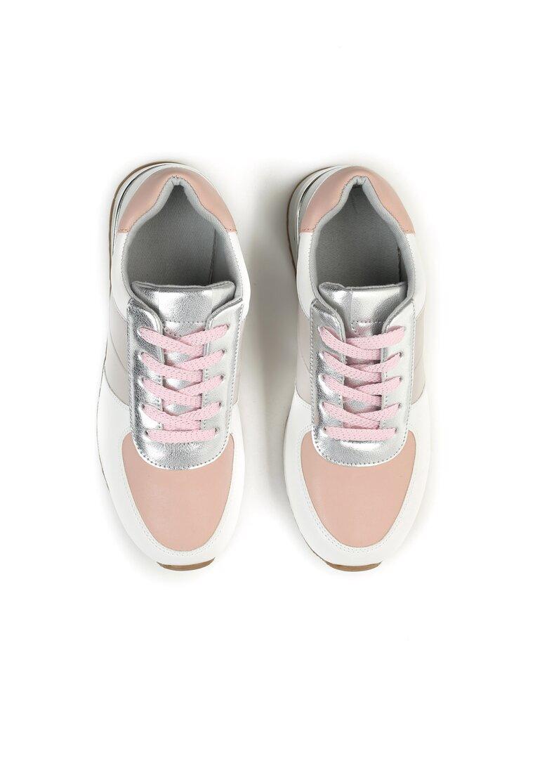 Różowe Buty Sportowe Not To Late