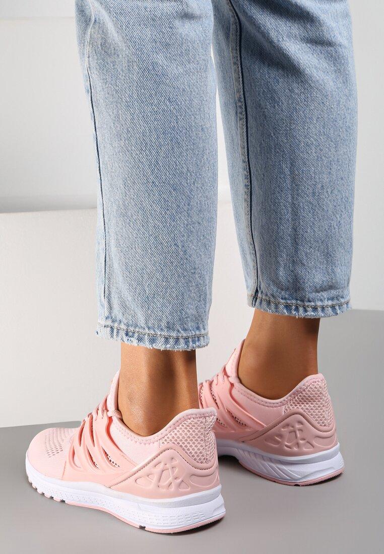 Różowe Buty Sportowe Blossom Spring