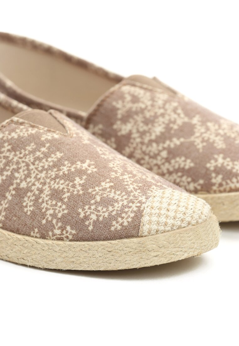 Beżowe Espadryle Beautiful Desire
