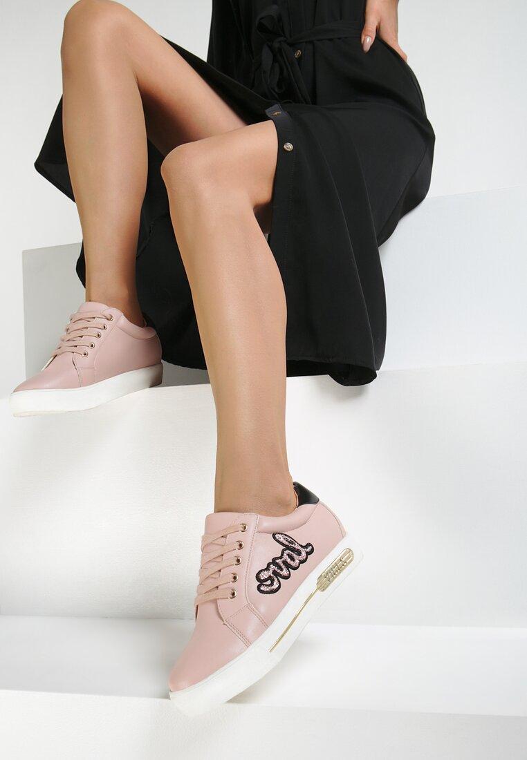 Różowe Buty Sportowe Evening Runner
