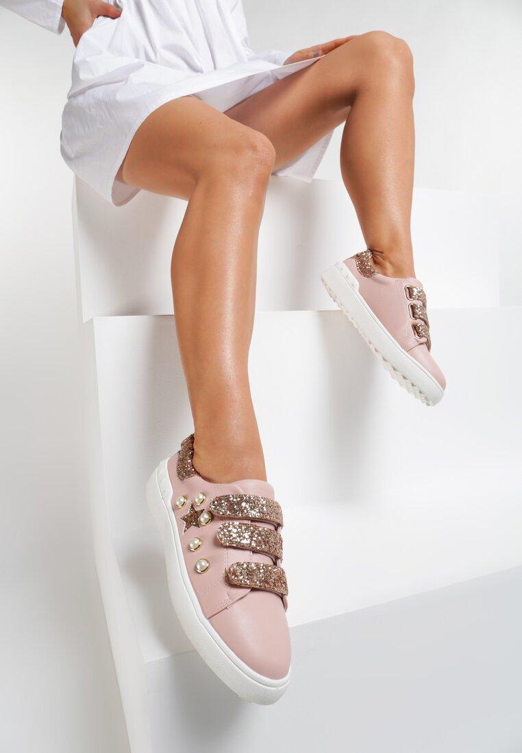 Różowe Buty Sportowe My Sweet Sunshine