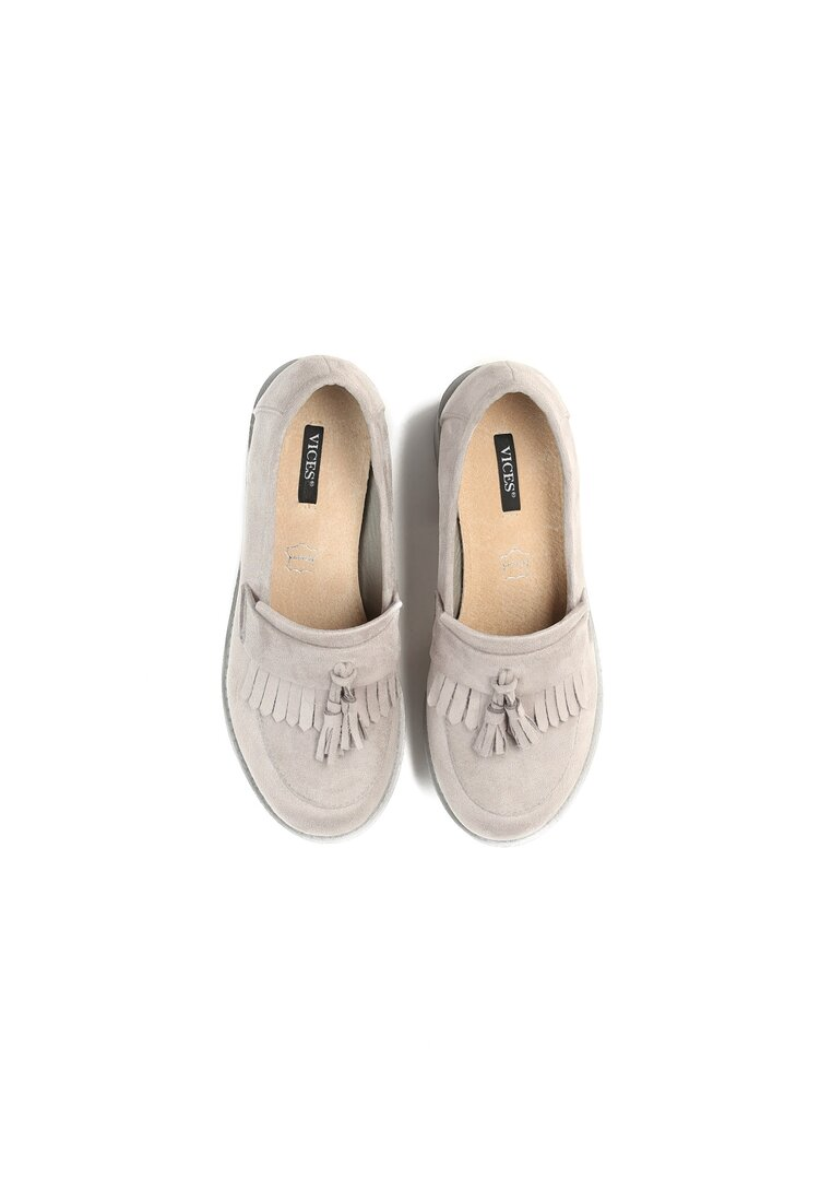 Szare Półbuty Blowing The Wind