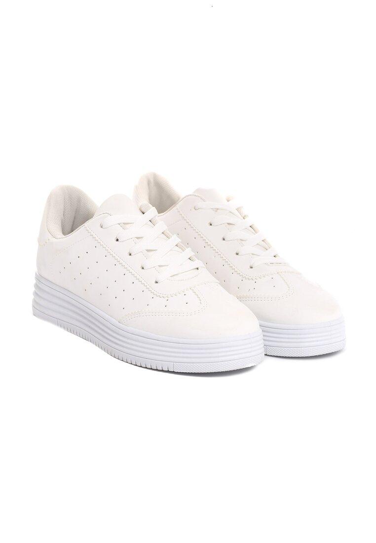 Białe Buty Sportowe Global Spirit