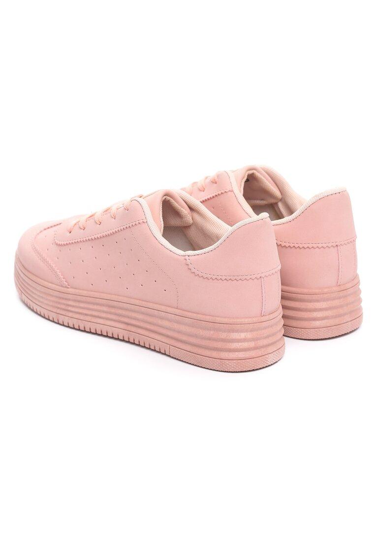 Różowe Buty Sportowe Global Spirit
