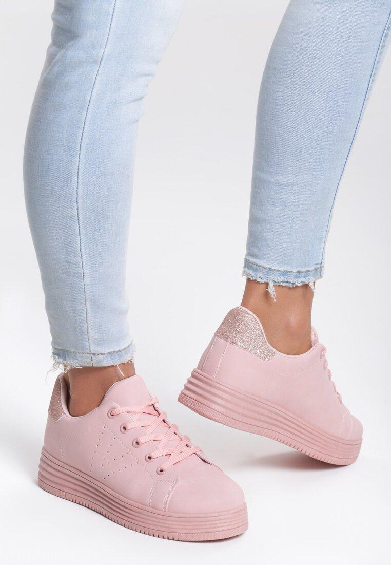 Różowe Buty Sportowe Something Stupid