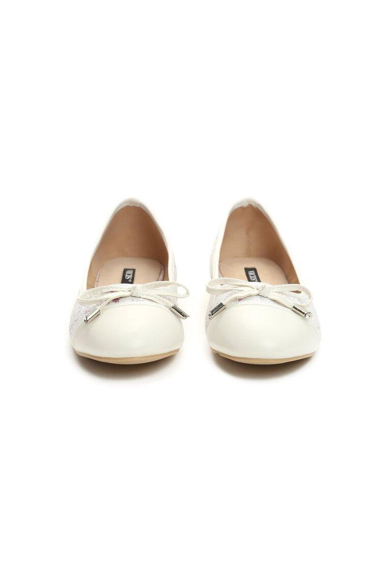 Białe Balerinki I Wish!