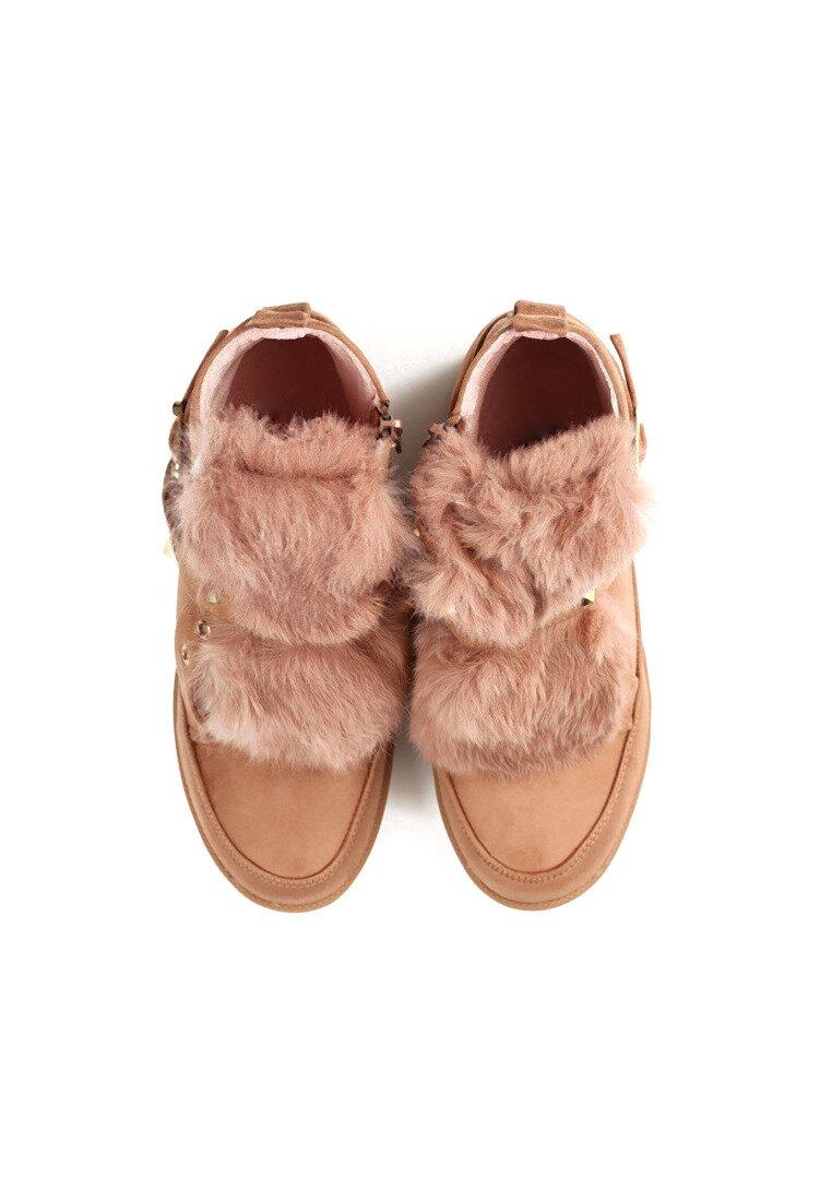 Różowe Sneakersy Boom Boom