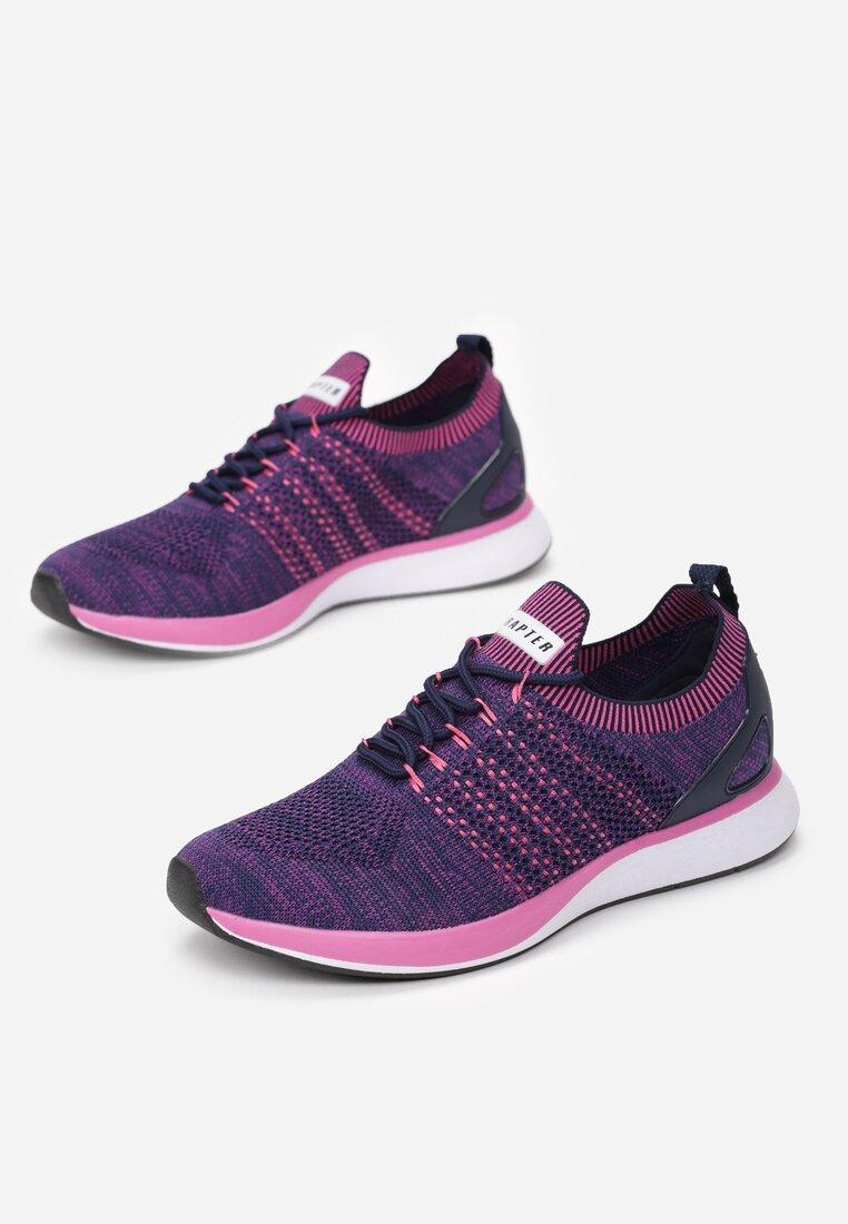 Fioletowo-Różowe Buty Sportowe Feelings
