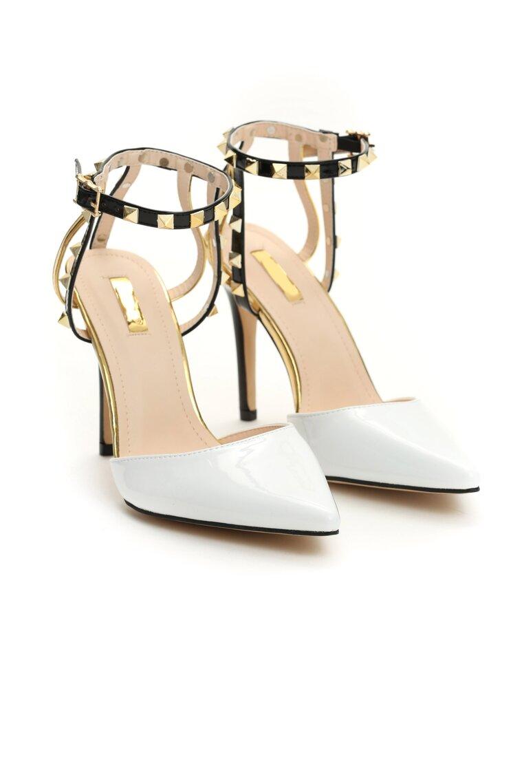 Białe Sandały Carrie