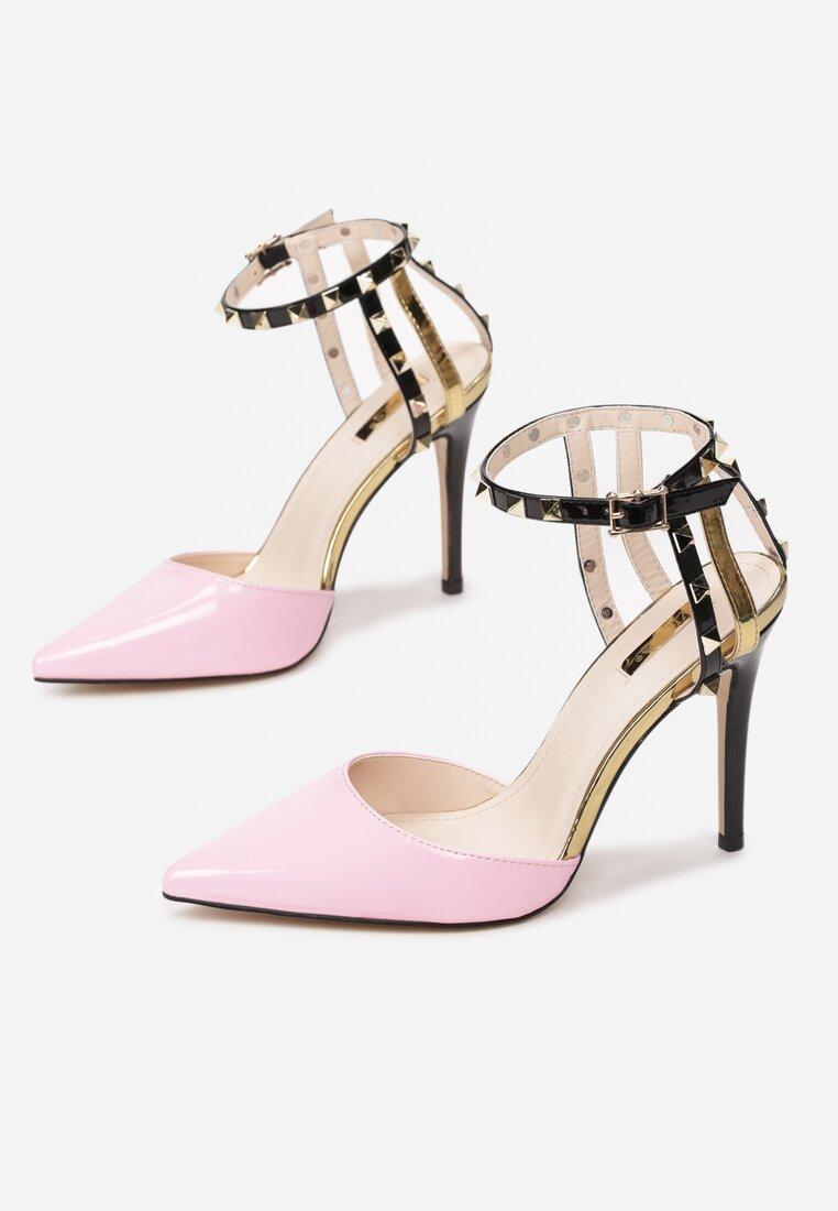 Różowe Sandały Carrie