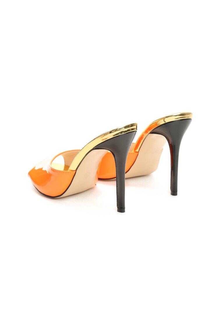 Pomarańczowe Klapki I'll Revenge