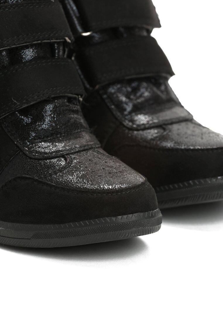 Czarne Sneakersy Miss Good