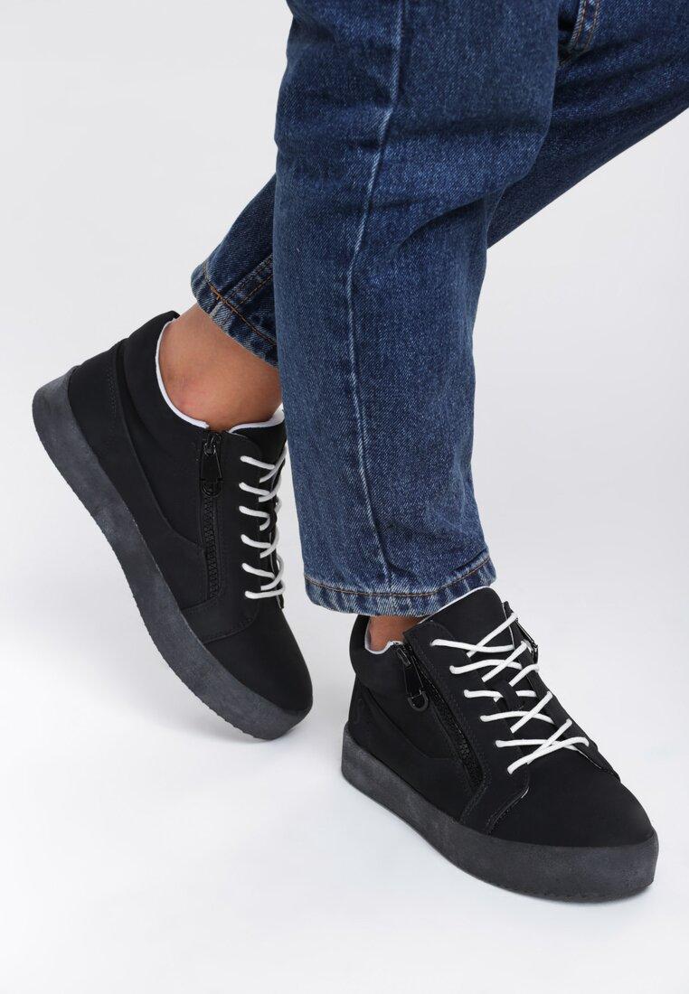 Czarne Sneakersy Let It Goo
